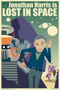 Jonathan-Harris-Is-Lost-In-Space-by-Juan-Ortiz-Art-Print-Poster-24x36-inch