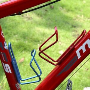 Bike Bicycle Cycling Sturdy Metal Plastic Drink Water Bottle Holder Cage Rack