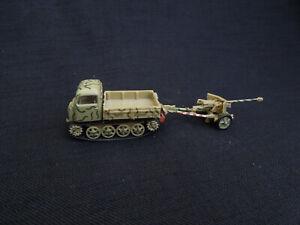 Steyr-RSO-Pak-40-Diecast-Amercom-1-72-German-Army-Anti-Tank-unit-1944
