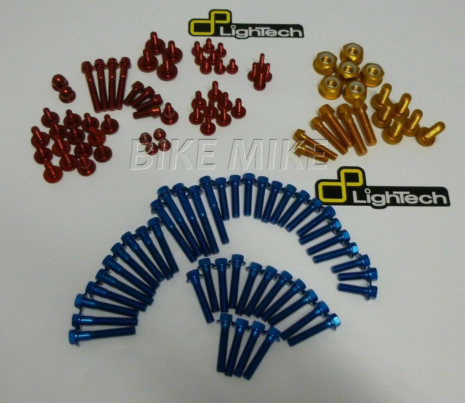Schrauben BOLT KIT  Motor Rahmen Verkleidung Gold blau rot SUZUKI GSXR1000 03-04