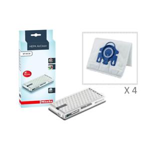 Miele-HEPA-AirClean-SF-HA-50-with-4-Hyclean-Miele-GN-3D-Efficiency-Dust-Bags