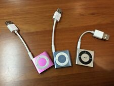 Apple iPod shuffle 4th gen 2 GB with charging sync cable