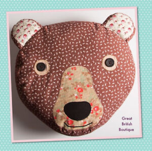 Cute-amp-Cuddly-Retro-Vintage-Style-Teddy-Bear-Cushion-by-Sass-amp-Belle-with-Inner