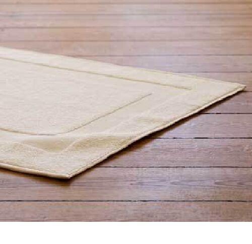3 new beige ultra soft hotel bath mats 6.5# 20x30