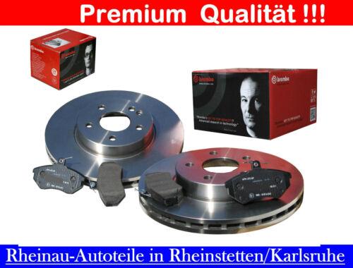 Brembo 2 x Bremsscheiben 266mm+Bremsbeläge-VA-PEUGEOT 206,305 II,306,405 div