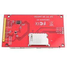 28 240x320 Spi Tft Lcd Touch Panel Serial Port Module Amp Pcb Ili9341 5v33v