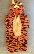 Tigger Toddler Child Costume Size 12 months Zipper down the front Easy to Use!