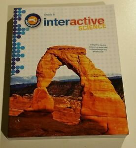 Pearson-Interactive-Science-Grade-8-BRAND-NEW-textbook-Custom-Edition