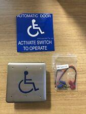 New Lcn 475in Square Handicap Symbol Actuator Switch 8310 853