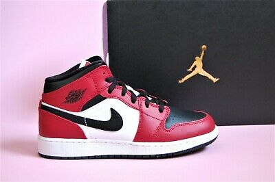 Nike Air Jordan 1 Mid GS Chicago Black Toe EU 38, 38.5, 37.5