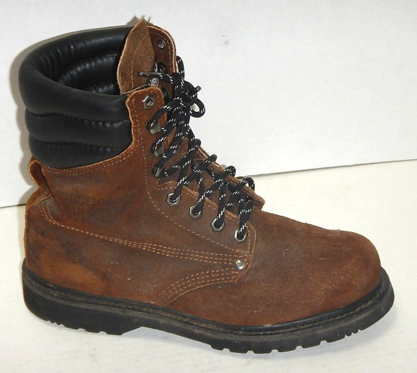 HONCHOS  Thinsulate Leather Genuine WorkBoots sz 6.5 E Wide  PERFECT