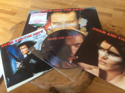 Adam And The Ants Kings Of The Wild Frontier Album original & Singles.