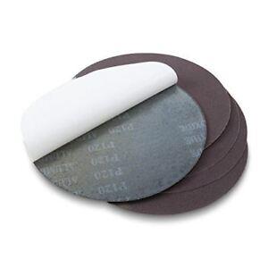 6 Inch 80 Grit Adhesive Back Metal Grinding Zirconia Sanding Discs 10 Pack