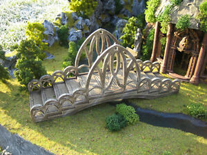 Elven-Bridge-Thomarillion-Unpainted-Ceramic-Wood-Terrain-D-amp-D-Dwarven-Forge
