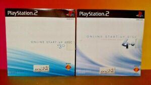 Online-Start-Up-Disc-Version-3-0-4-0-PS2-Playstation-2-Lot-V-3-0-V-4-0