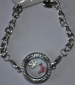 Image Is Loading Floating Locket Bracelet For Hair Stylist Gift