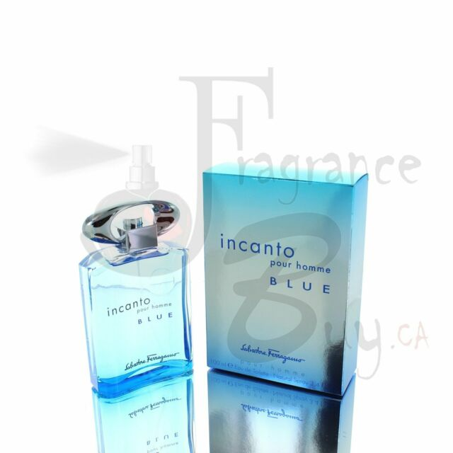 Salvatore Ferragamo Blue Incanto M 100ml Boxed