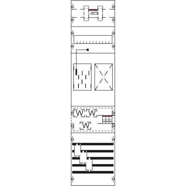 Striebel&John Mess- u. Wandlerfeld KA4608 IP2XC grau Zählerfelder Mess-
