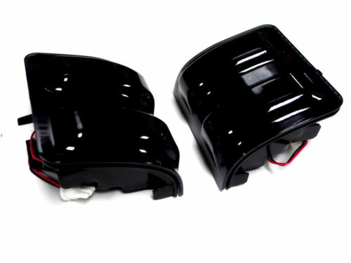 F250 F350 F450 F550 Super Duty 2008-2013 Side Mirror Light LED Smoke FORD New