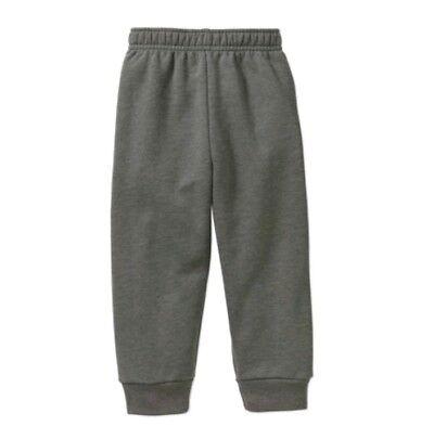 NEW Toddler Boys Jogger Pants Size 2T Football Green Fleece Sweats Garanimals