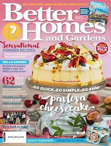 Image Is Loading BETTER HOMES AND GARDENS BHG MAGAZINE MARCH 2018