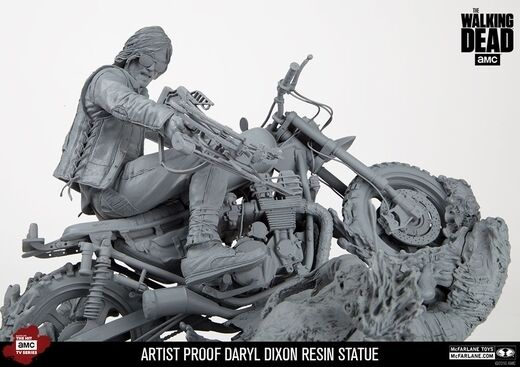 The Walre Dead Daryl Dixon Resin Statue Mcfarlane Artist Proof Proof Proof Limited to 50 7d0bfa