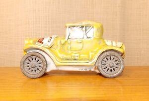 Porcelain-Cadillac-1913-Replica-Wine-Bottle-Car-Figure-Vino-Tavola-Vtg-Decanter