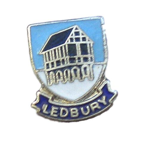 Ledbury Quality Enamel Lapel Pin Badge