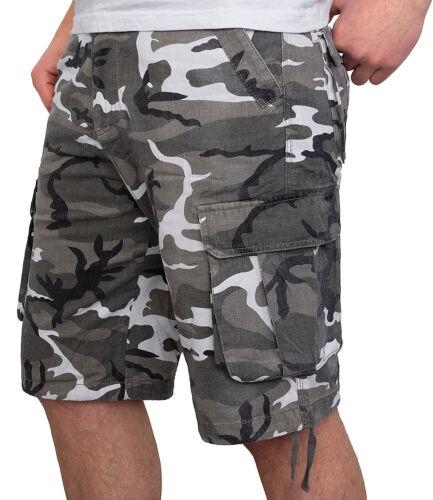 Herren Cargo Shorts kurze Hose Bermuda Shorts Herrenshorts Bermudas H-081 S-2XL