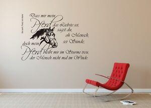 wandtattoo pferde spruch reuniecollegenoetsele. Black Bedroom Furniture Sets. Home Design Ideas