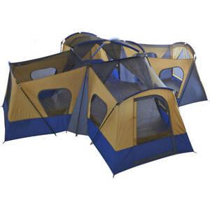 Details about  /Tienda De Campaña 2//4//6 Personas Carpa Para Camping Grande Equipamiento Camp