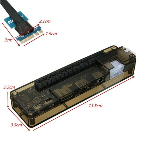 PCI-E X16 V8.0 EXP GDC Notebook External Independent Video Card Dock for Beast