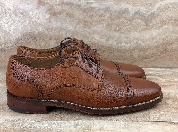 Cole Haan GrandOs Giraldo LX Cap Ox II Oxford Dress shoes British Tan