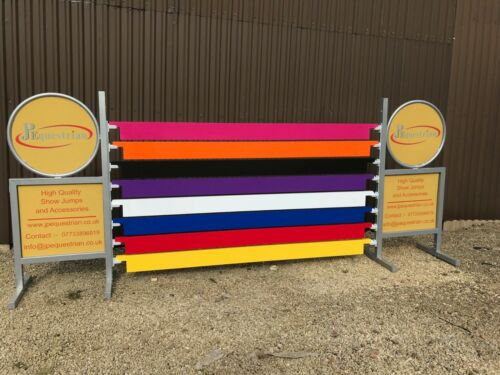 Aluminium Show Jumping Plank for Showjumping to use with Showjumping cups 3m