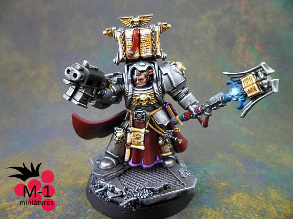 Warhammer 40k Space Space Space Marines Librarian M-1 pro-painted d6987d