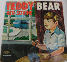 Teddy Bear Red Sovine SD968X 33RPM Record 032017RR