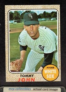 1968 Topps #72 Tommy John Chicago White Sox Vintage Baseball Card VG/EX+