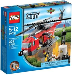 LEGO-City-60010-Fire-Helicopter-New-amp-Sealed