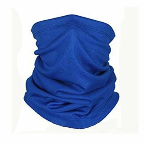 Balaclava Neck Tube Scarf Bandana Head Face Cover Neck Gaiter Ear Loops Headwear