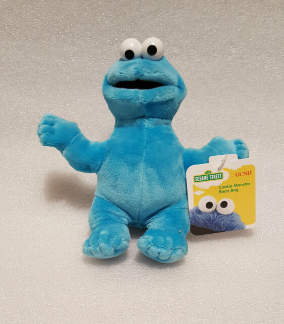 BRAND NEW**SMALL 15CM BEANIE COOKIE MONSTER PLUSH