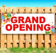 Grand Opening Advertising Vinyl Banner Flag Sign Many Sizes Available Business