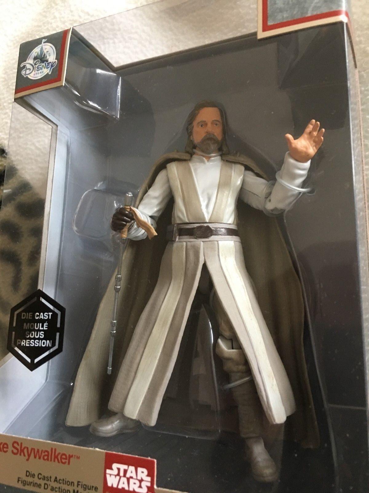 Star Wars    the last  jedi  elite series  luke skywalker   die-cast  figure