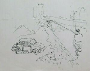 Altes-Vorbereitende-Skizze-Unfall-Maler-G-Pancaldi-1922-2014-P28-7