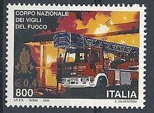 1999 ITALIA POMPIERI VIGILI DEL FUOCO MNH **