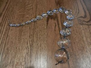 Pottery Barn Mia Large Pendant Replacement Crystals