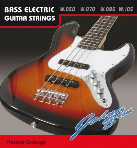 .050 .085 /& .105 Set of Johnny Brook Bass Guitar Strings Medium Gauge .070