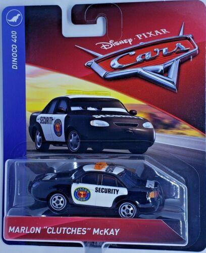 Disney Pixar Cars 3 Marlon Clutches McKay Dinoco 400 Diecast Mattel 1:55