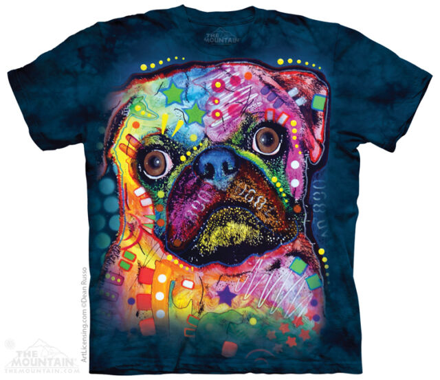 New RUSSO PUG T Shirt