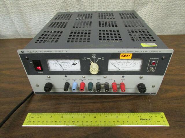 kepco mps 620m manual