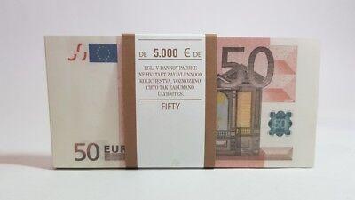 100 EURO SOUVENIR BANKNOTE SIZE:155*75 # 95~100pcs NEW.